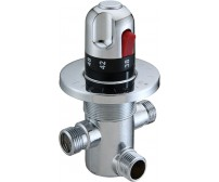 Автоматический смеситель с термо регулировкой для подготовки теплой воды KR533 12D (ZY)