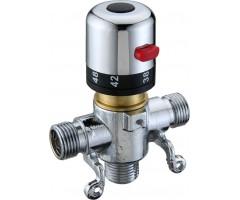 Автоматический смеситель с термо регулировкой для подготовки теплой воды KR532 12D (HD)